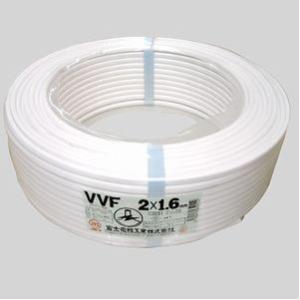 富士電線 VVFケーブル白 VVF1.6*2C*100Mシロ