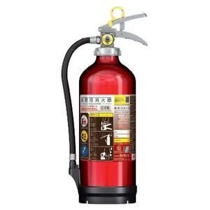 モリタ宮田工業 アルミ製蓄圧式粉末ABC消火器 業務用 10型 総質量約3.9kg リサイクルシール付 UVM10ALリサイクルシールツキ|dendenichiba
