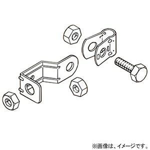 ネグロス電工 吊りボルト振れ止め金具 片側用タイプ W3/8 ステンレス鋼 S-DYR1-W3 dendenichiba