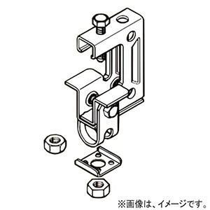 ネグロス電工 一般形鋼用吊りボルト支持金具 W3/8 フランジ厚25〜40mm 電気亜鉛めっき HB3-W3 dendenichiba