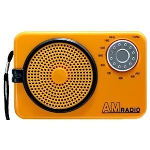 日本協能電子 AMラジオ 水電池単3形×2本・ストラップ付 NWP-AR|dendenichiba