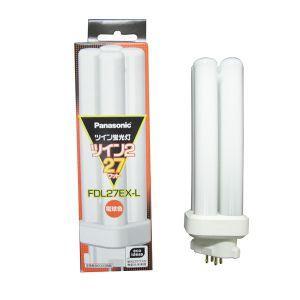 パナソニック コンパクト形蛍光灯 27W 3波長形電球色 FDL27EX-L