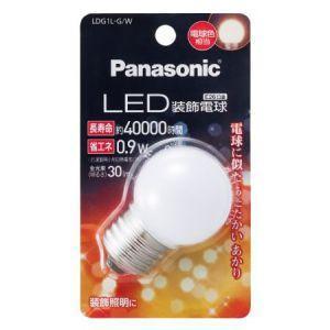 パナソニック LED装飾電球 G形タイプ 7W相当 電球色相当 全光束30lm E26口金 LDG1...