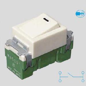 パナソニック電工 フルカラースイッチ 埋込スイッチB ネームなし 片切 15A 300V AC WN5001P dendenichiba