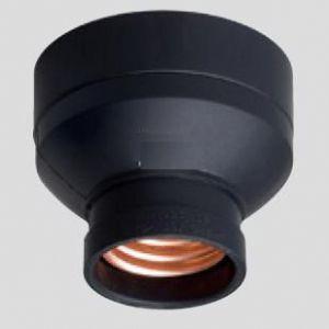 パナソニック電工 送りなしレセプタクルB黒 6A 250V WW3402|dendenichiba