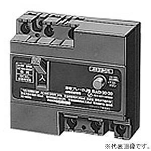 パナソニック 漏電ブレーカ 住宅分電盤主幹用・電灯回路用 J-0E型 JIS互換性形 3P0E 30A 30mA BJJ33030|dendenichiba