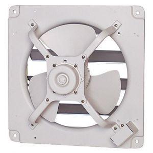 三菱 高静圧形工業用換気扇 シャッター付 排気形 風圧式 単相100V 羽根径:40cm E-40S4|dendenichiba