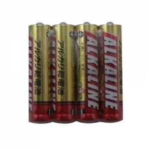 三菱 アルカリ乾電池 単4形 4本パック LR03R/4S