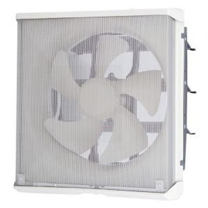 三菱 標準換気扇 ワンタッチフィルター 台所用 再生形 メタルタイプ 電気式シャッター 引きひもなし 電源コード(プラグ付) 25cm EX-25EMP6-F|dendenichiba