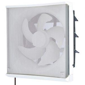 三菱 標準換気扇 ワンタッチフィルター 台所用 再生形 連動式シャッター 引きひも付 電源コード(プラグ付) 20cm EX-20LFH6-M|dendenichiba