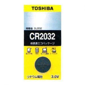東芝 ケース販売 5個セット コイン形リチウム電池 3V 0.2mA 220mAh エコパッケージ CR2032EC_set|dendenichiba