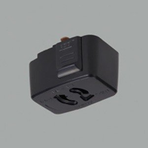 オーデリック 引掛シーリングコンセント ライティングレール用 ブラック LD6012BT