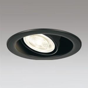 オーデリック LEDユニバーサルダウンライト M形 調光 E11口金 ランプ別売 埋込穴φ100 ブラック OD301206 dendenichiba