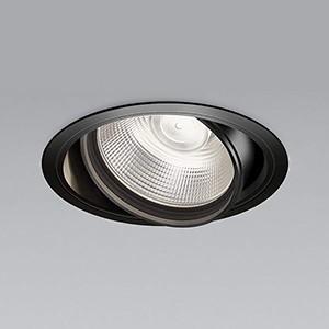 コイズミ照明 LEDユニバーサルダウンライト 明るさ切替タイプ 白色 埋込穴φ150mm 照度角50°電源別売 ブラック XD91082L|dendenichiba