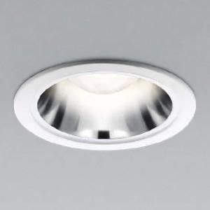 コイズミ照明 LEDレトロフィットダウンライト M形 ベースタイプ 白熱球60・40W相当 口金E26 ランプ別売 埋込φ100mm ファインホワイト・銀色鏡面 AD91973L|dendenichiba