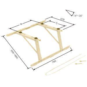 日晴金属 クーラーキャッチャー 傾斜屋根用 C-YUG-L
