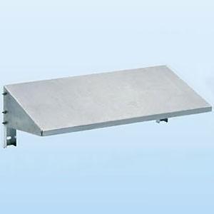 日晴金属 クーラーキャッチャー 壁面用防雪屋根 塩害地向け 天板:ZAM鋼板 溶融亜鉛メッキ仕上げ goシリーズ  C-RKZJ