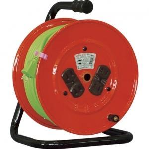 日動工業 100V 一般型ドラム 30m 標準型ドラム(屋内型) NR-304D|dendenichiba