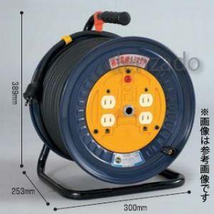 日動工業 100V 一般型ドラム アース無 2P 15A 125V コンセント数:4 長さ30m SVCT5.5×2 NDN-304G|dendenichiba