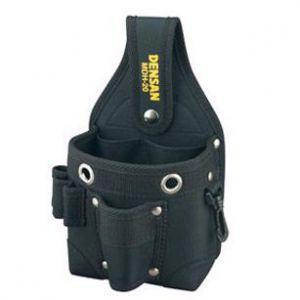 ジェフコム ポケットハイポーチ 「ベルト吊り」「ポケットイン」 クイック2Way装着のミニ腰袋 MDH-20|dendenichiba