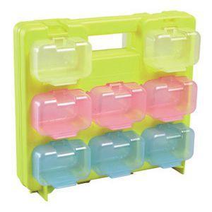 【特長】●ケースのない?パーツボックスの使いやすいミニタイプ。 ●外枠に透明中箱がセットされているの...