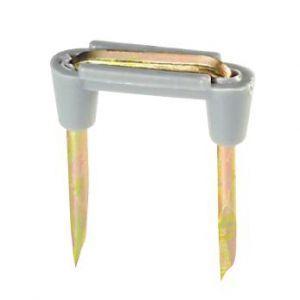 ジェフコム 木工用絶縁ステップル 200個入り 適用電線:VVF1.6×2C、VVF2.0×2C ZST-5P|dendenichiba
