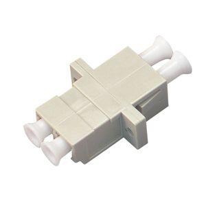 ジェフコム 光ファイバーアダプター LC-LCコネクター マルチモード デュプレックス LCA-LC...