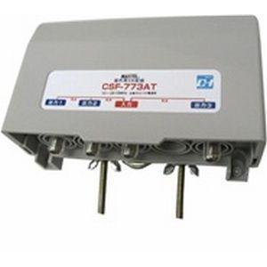 MAXTEL CS/BS/地デジ/UV対応 屋外用3分配器 CSF-773AT-EP|dendenichiba