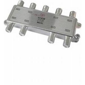 MAXTEL CS/BS/地デジ対応 8分配器(1端子電流通過型) DYD-8A|dendenichiba