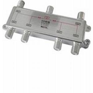 MAXTEL CS/BS/地デジ対応 6分配器(全端子電流通過型) DYD-6AT|dendenichiba