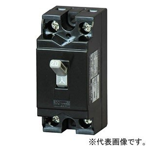 受注生産品 テンパール工業 配線用遮断器 2P1E30AF 15A コード短絡保護用瞬時遮断機能付 BC1HEA15 dendenichiba