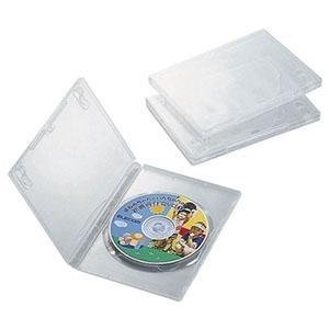 ELECOM DVDトールケース 1枚収納 3枚セット クリア CCD-DVD01CR|dendenichiba