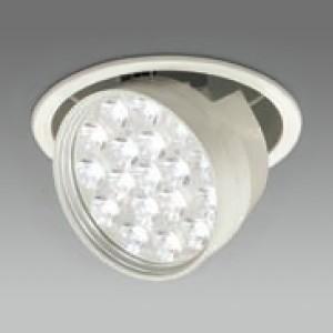 DAIKO LEDダウンライト 電球色 CDM-T70W相当 埋込穴φ150mm 配光角17度 電源別売 ダウンスポット ユニバーサルタイプ LZD-60766YW|dendenichiba