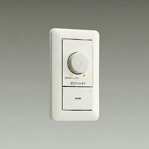 DAIKO LED専用調光器 300VA用 スイッチボックス1個用 埋込穴φ51mm×71mm DP-37154E dendenichiba