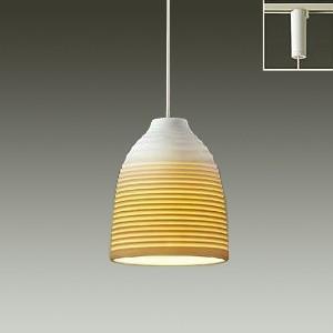 DAIKO LEDペンダントライト 電球色 非調光タイプ 白熱灯60Wタイプ ダクト取付専用 信楽透...