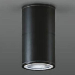 DAIKO ベースダウンライト 軒下用 ランプ交換型 シーリングタイプ ランプ別売 防滴形 φ50ダイクロハロゲン50W形 40W相当 黒 LZW-92353XB|dendenichiba