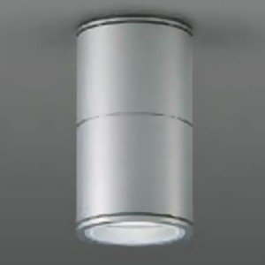 DAIKO ベースダウンライト 軒下用 ランプ交換型 シーリングタイプ ランプ別売 防滴形 φ50ダイクロハロゲン50W形 40W相当 シルバー LZW-92353XS|dendenichiba