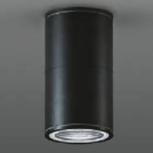 DAIKO ベースダウンライト 軒下用 ランプ交換型 シーリングタイプ ランプ付 配光角70° 防滴形 40W形 LED電球4.7W E17 電球色 黒 LZW-92354YB|dendenichiba