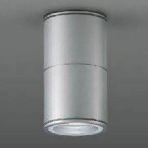 DAIKO ベースダウンライト 軒下用 ランプ交換型 シーリングタイプ ランプ付 配光角70° 防滴形 40W形 LED電球4.7W E17 電球色 シルバー LZW-92354YS|dendenichiba