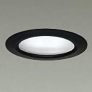 DAIKO ベースダウンライト 棚下用 電源別置型 COBタイプ 埋込穴φ65 配光角60° 白熱灯40W相当 電球色 3000K 黒 LZD-92484YB dendenichiba