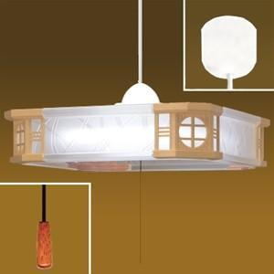 生産完了品 タキズミ LEDペンダントライト 和風 〜6畳用 昼光色相当 高さ調節可能(コード収納型) プルスイッチ付 SPV60024|dendenichiba