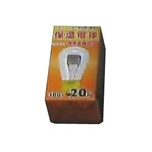 アサヒ ヒヨコ保温球 30W100V 口金:E26 被膜加工仕上げ ミニヒヨコホオンデンキュウ30W|dendenichiba