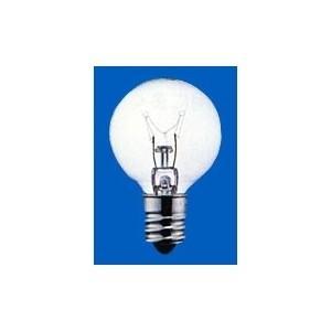 アサヒ ミニボールランプ G30 110V5W 全光束:20lm 口金:E12 クリヤー G30 E12 110V-5W(C)