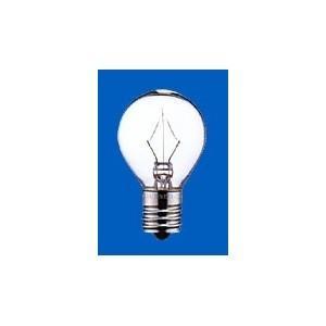 アサヒ ミニランプ S35 105V40W 全光束:400lm 口金:E17 クリヤー S35 E17 100/110V-40W(C)|dendenichiba