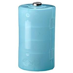 旭電機化成 単2が単1になる電池アダプター 2個入 ブルー ADC-210BL|dendenichiba