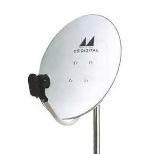 日本アンテナ CSアンテナ 1出力型電圧切換方式 口径45cm型 垂直直線偏波専用 45CSV dendenichiba