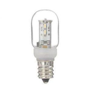 ヤザワ ナツメ形LEDランプ クリア 全光束:25lm 5W相当 電球色相当 E12口金 LDT1LG20E12 dendenichiba