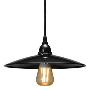 在庫限り ヤザワ LEDレトロペンダントライト 1灯用 E26口金 100Wまで ブラック Y07PDR05L01BK|dendenichiba