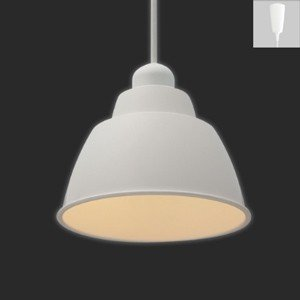 アイリスオーヤマ LEDペンダントライト Gammel Plas S 一般電球40W形相当 電球色相当 E17口金 引掛シーリング取付式 ホワイト PL5L-E17PE1-W|dendenichiba