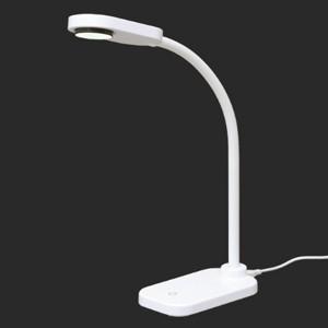 アイリスオーヤマ LEDデスクライト 一般形相当 昼白色 4.2W USB充電可能 LDL-201-...
